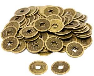 Китайские монетки