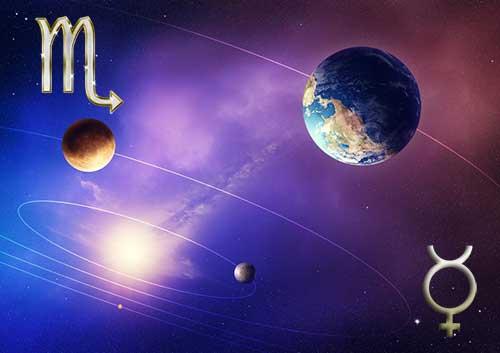 Меркурий в знаке Скорпиона