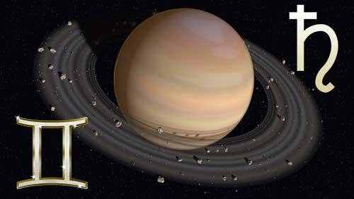 Сатурн в знаке Близнецов