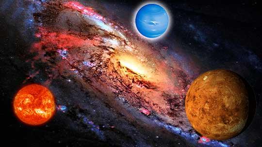 Плутон с луной в секстиле с нептуном