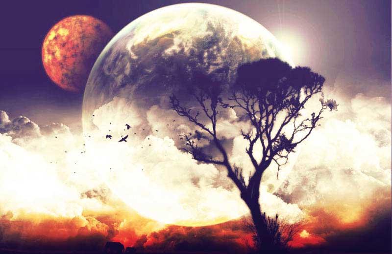 Секстиль солнца луны