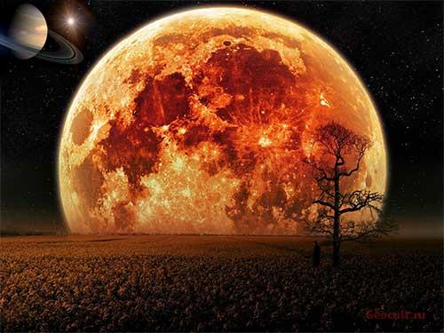 Соединение Луна – Сатурн