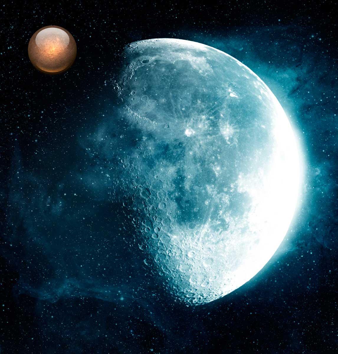 Секстиль солнце черная луна