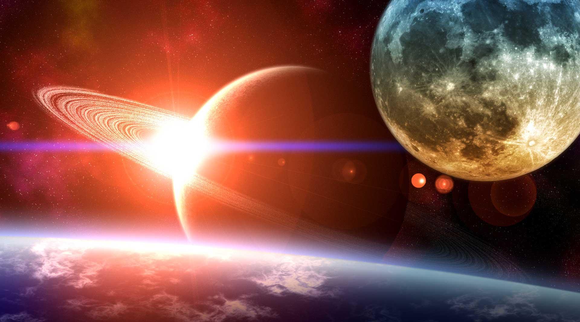 Секстиль сатурн солнце