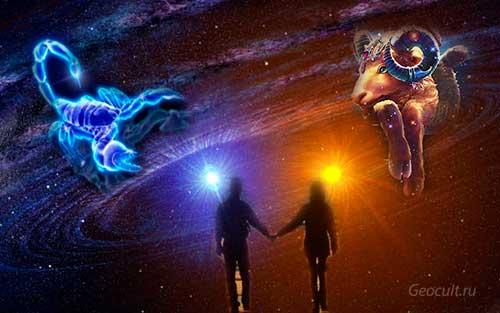 Скорпион и Овен — совместимость знаков