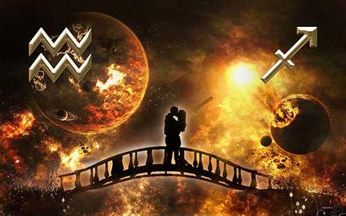 Водолей и Стрелец - совместимость знаков
