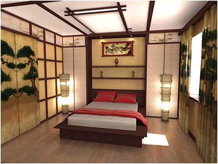 Спальня по фен шуй - фото