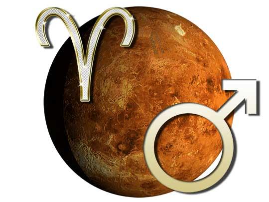 Марс в Овне