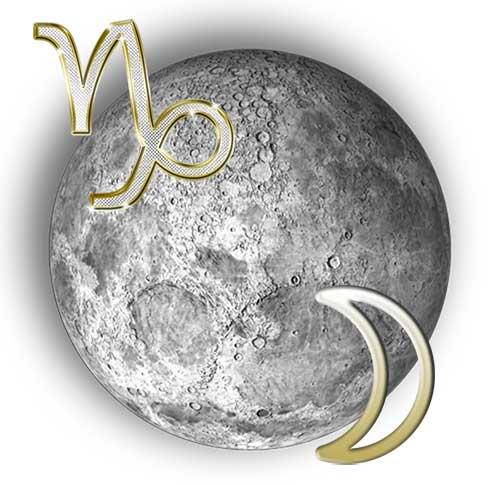 Луна в знаке Козерога