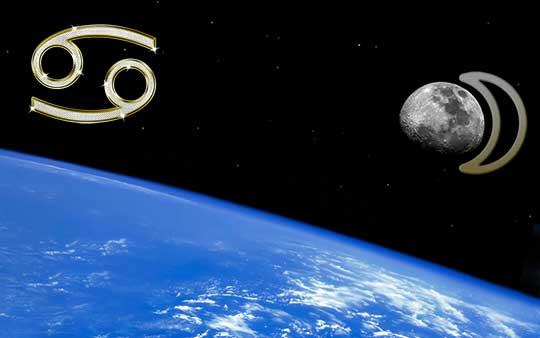 Луна в знаке Рака