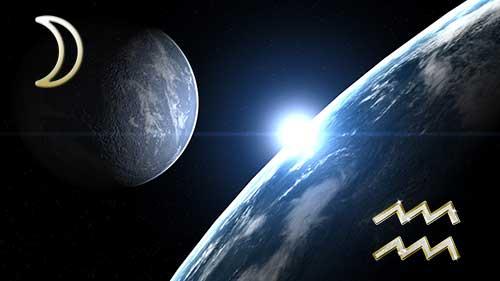 Луна в знаке Водолея