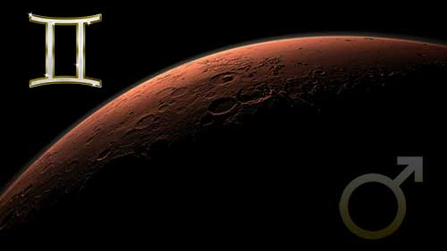 Марс в знаке Близнецов