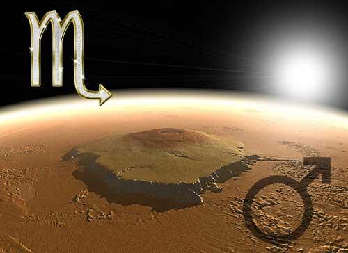 Марс в знаке Скорпиона