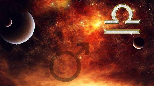 Марс в знаке Весов