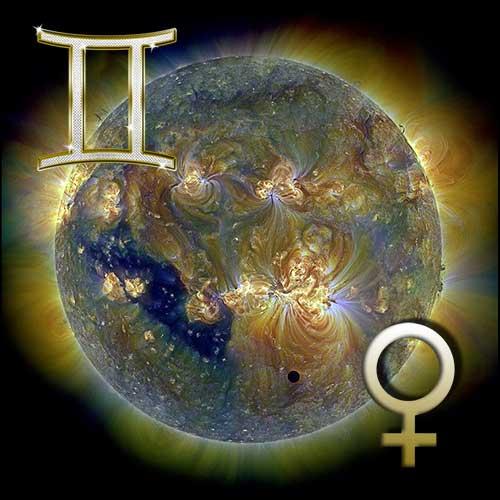 Венера в знаке Близнецов