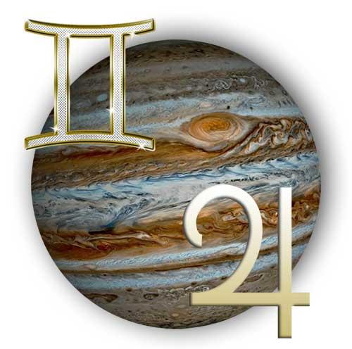 Юпитер в знаке Близнецов