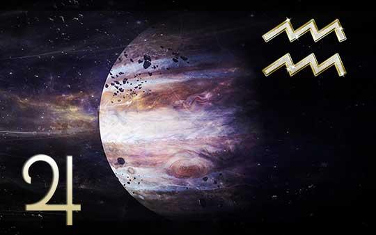 Юпитер в знаке Водолея