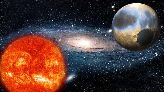 Солнце – Плутон