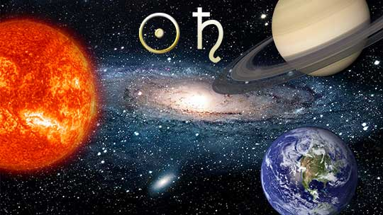 Аспекты Солнца и Сатурна