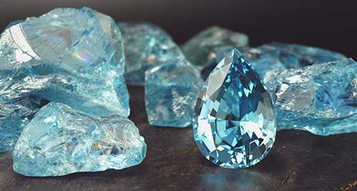 Камень Аквамарин фото