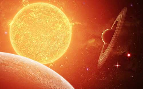 Солнце – Меркурий