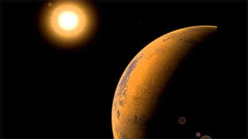 Солнце – Марс