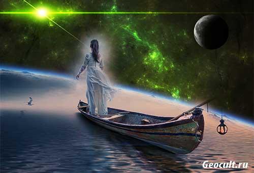 Тригон Луна – Нептун