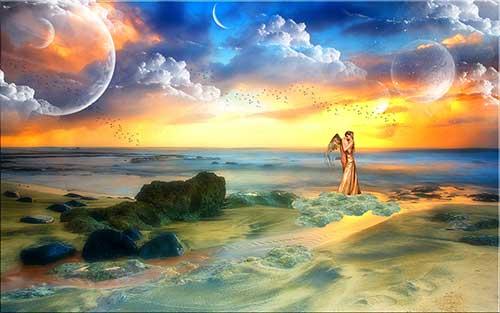 Соединение Луна – Венера