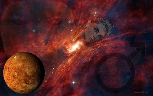 Соединение Марс - Юпитер