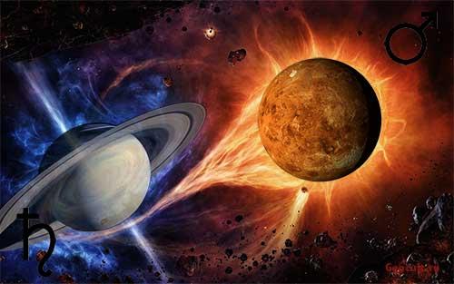 Соединение Марс - Сатурн
