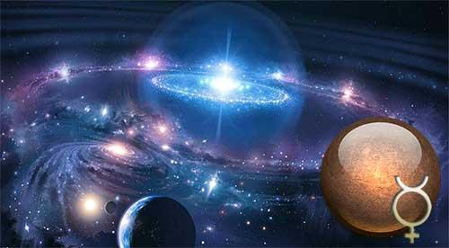 Секстиль Меркурий – Уран