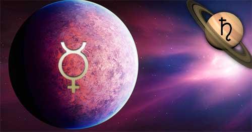 Тригон Меркурий – Сатурн
